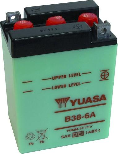 Akumulator motocyklowy YUASA B38-6A