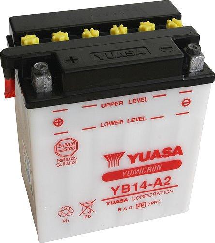 Akumulator motocyklowy YUASA YB14-A2