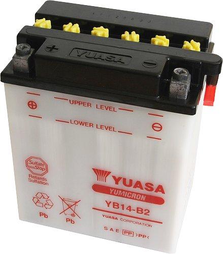 Akumulator motocyklowy YUASA YB14-B2