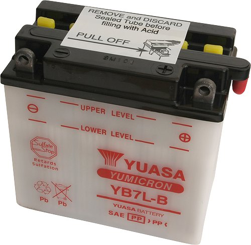 Akumulator motocyklowy YUASA YB7L-B