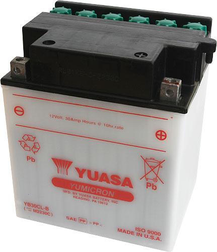 Akumulator motocyklowy YUASA YB30CL-B