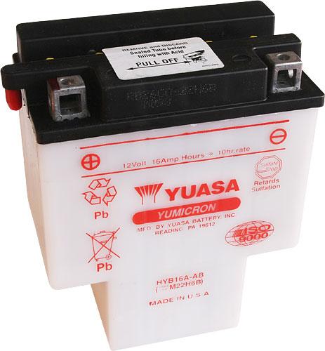 Akumulator motocyklowy YUASA HYB16A-AB