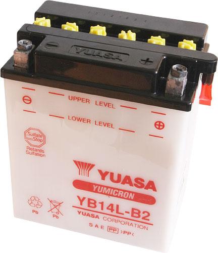 Akumulator motocyklowy YUASA YB14L-B2