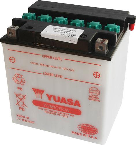 Akumulator motocyklowy YUASA YB30L-B