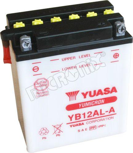 Akumulator motocyklowy YUASA YB12AL-A