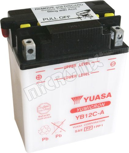Akumulator motocyklowy YUASA YB12C-A