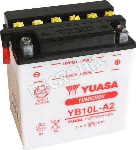 Akumulator motocyklowy YUASA YB10L-A2