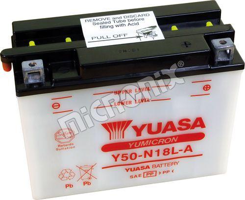 Akumulator motocyklowy YUASA Y50-N18L-A