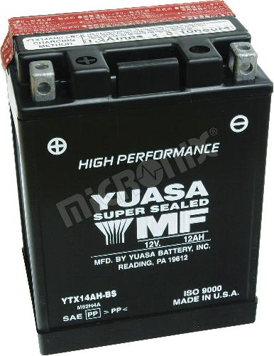 Akumulator motocyklowy YUASA YTX14AH-BS