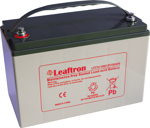 Akumulator Leaftron LTC12-100 (12V/100Ah)